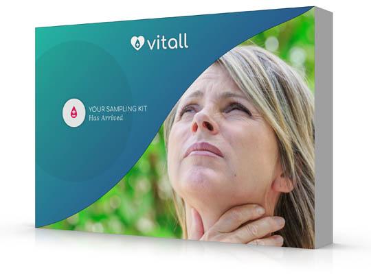 Thyroid Function & Autoimmune Reaction Home Test Kit UK